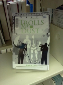 A book by me in my hometown library.  So cool.
